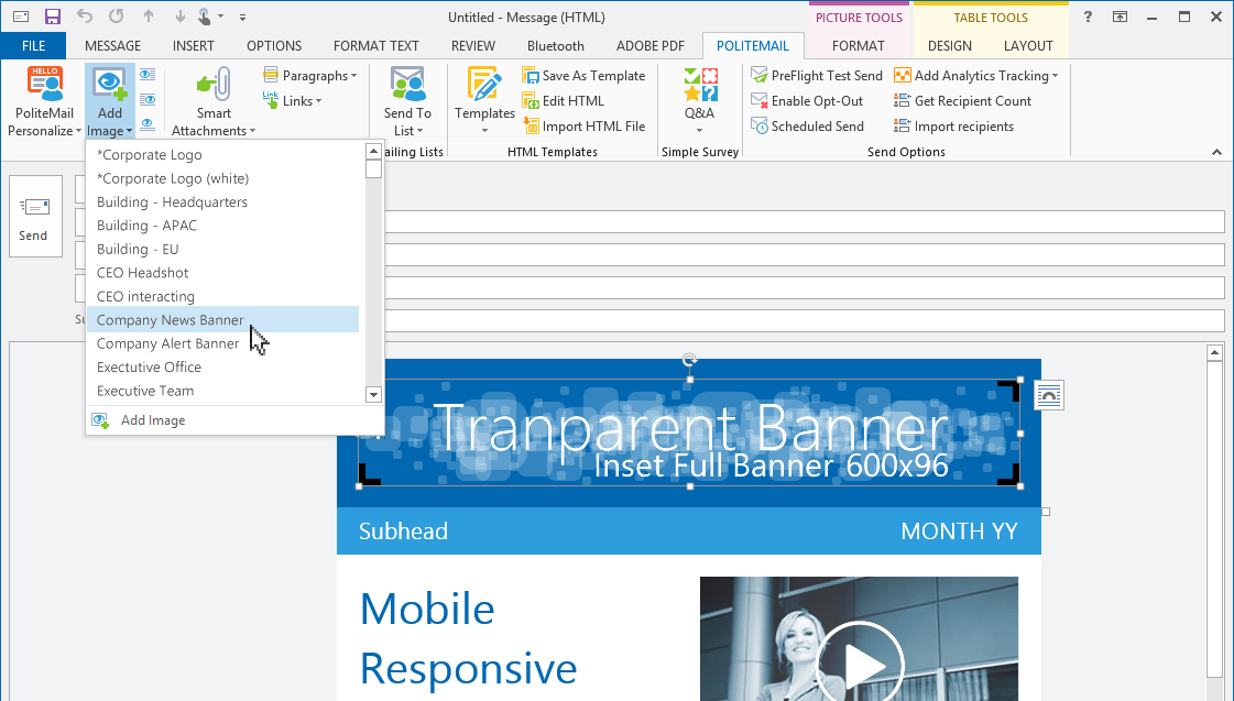 Outlook e posta hesab na mza ekleme izmir web tasar m for How to make an html email template